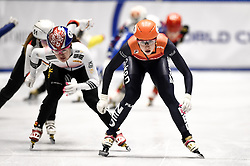 February 9, 2019 - Torino, Italia - Foto LaPresse/Nicolò Campo .9/02/2019 Torino (Italia) .Sport.ISU World Cup Short Track Torino - Ladies 1500 meters Final A .Nella foto: Suzanne Schulting..Photo LaPresse/Nicolò Campo .February 9, 2019 Turin (Italy) .Sport.ISU World Cup Short Track Turin - Ladies 1500 meters Final A.In the picture: Suzanne Schulting (Credit Image: © Nicolò Campo/Lapresse via ZUMA Press)
