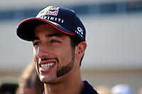 Daniel Ricciardo (AUS) Red Bull Racing.<br /> United States Grand Prix, Thursday 30th October 2014. Circuit of the Americas, Austin, Texas, USA.