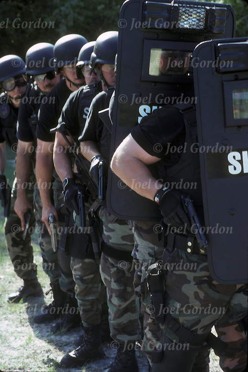 Putnam County Sheriff's Office (PCSO) in-service training for SWAT unit