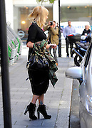 31.AUGUST.2012. LONDON<br /> <br /> FEARNE COTTON LEAVES RADIO 1 STUDIOS WEARING A PAIR OF TOWERING CHRISTIAN LOUBOUTIN SPIKED HEELS,  LONDON UK.<br /> <br /> BYLINE: EDBIMAGEARCHIVE.CO.UK<br /> <br /> *THIS IMAGE IS STRICTLY FOR UK NEWSPAPERS AND MAGAZINES ONLY*<br /> *FOR WORLD WIDE SALES AND WEB USE PLEASE CONTACT EDBIMAGEARCHIVE - 0208 954 5968*