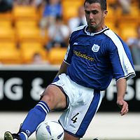 St Johnstone FC season 2004-05<br />David Hannah<br /><br />Picture by Graeme Hart.<br />Copyright Perthshire Picture Agency<br />Tel: 01738 623350  Mobile: 07990 594431