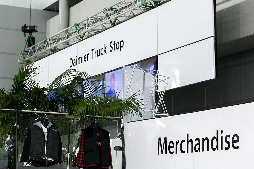 Brisbane Truck Show 2013. Daimler Trucks. Rodney Robertson and Associates. Queensland. Photo By Pat Brunet/Event Photos Australia