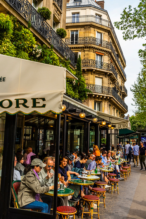 Cafe de Flore (Flora) is a famous café in the Saint-Germain-des-Prés area of Paris, France.