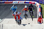 BMX Qualification during the Cycling European Championships Glasgow 2018, at Glasgow BMX Centre, in Glasgow, Great Britain, Day 9, on August 10, 2018 - Photo luca Bettini / BettiniPhoto / ProSportsImages / DPPI<br /> - Restriction / Netherlands out, Belgium out, Spain out, Italy out -