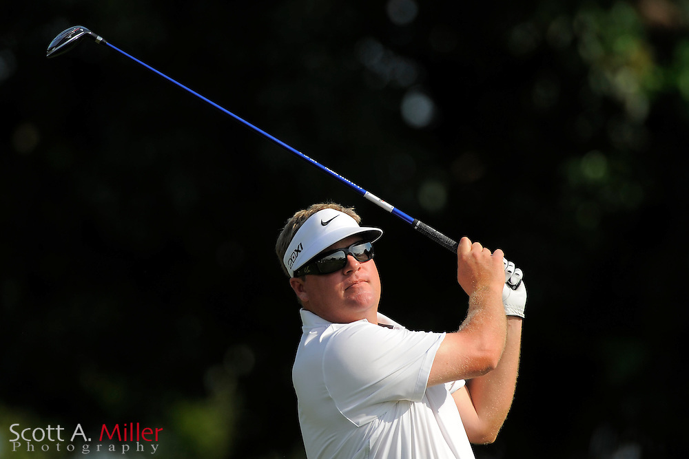 Carl Pettersson during the third round of the Honda Classic at PGA National on March 3, 2012 in Palm Beach Gardens, Fla. ..©2012 Scott A. Miller.