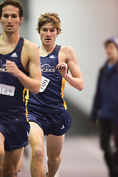 London, Ontario ---11-01-22---   Dave Meloche of the Windsor Lancers competes at the 2011 Don Wright meet at the University of Western Ontario, January 22, 2011..GEOFF ROBINS/Mundo Sport Images.