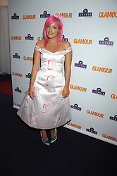 LILY ALLEN at the 2008 Glamour Women of the Year Awards 2008 held in the Berkeley Square Gardens, London on 3rd June 2008.<br /><br />NON EXCLUSIVE - WORLD RIGHTS