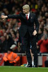 Arsenal Manager, Arsene Wenger - Photo mandatory by-line: Mitchell Gunn/JMP - Tel: Mobile: 07966 386802 23/11/2013 - SPORT - Football - London - Emirates Stadium - Arsenal v Southampton - Barclays Premier League