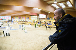Dejan Zavec during Equestrian competition  FEI Grand Prix World Cup Celje 2014, on November 30, 2014 in Equestrian Centre Celje, Slovenia. Photo by Vid Ponikvar / Sportida
