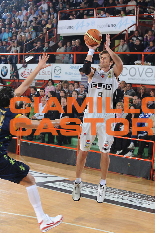DESCRIZIONE : Caserta Lega A 2008-09 Eldo Caserta Premiata Montegranaro<br /> GIOCATORE : James Larranaga<br /> SQUADRA : Eldo Caserta<br /> EVENTO : Campionato Lega A 2008-2009 <br /> GARA : Eldo Caserta Premiata Montegranaro<br /> DATA : 11/04/2009<br /> CATEGORIA : tiro<br /> SPORT : Pallacanestro <br /> AUTORE : Agenzia Ciamillo-Castoria/G.Ciamillo