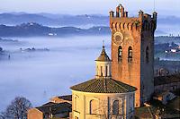 Italie - Toscane - Village de San Miniato - Province de Pise // Italy, Tuscany, San Miniato village, Pise province