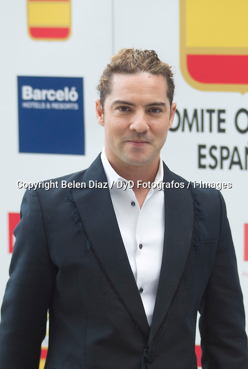 David Bisbal..International Olympic Committee (CIO) President and Prince of Spain, Felipe, attend Spanish Olympic Commitee Centenary Gala, Madrid, Spain, December 12, 2012. Photo by Belen Diaz / DyD Fotografos / i-Images...SPAIN OUT