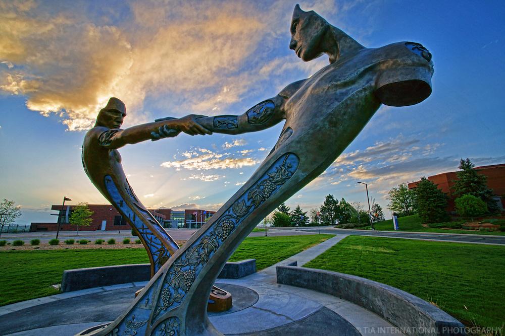 Communis Statue. Thornton, Colorado.