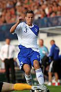 11.08.2010, Kupittaa, Turku, Finland..Yst?vyysmaaottelu Suomi - Belgia / Friendly International match Finland v Belgium..Niklas Moisander - Suomi/Finland..©Juha Tamminen.