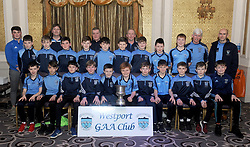 Westport Bord na nOg presentation to U12A team Mayo Spring league winners.<br />