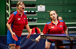 CHEBANIKA Raisa and ALIEVA Maliak (RUS) during Team events at Day 4 of 16th Slovenia Open - Thermana Lasko 2019 Table Tennis for the Disabled, on May 11, 2019, in Dvorana Tri Lilije, Lasko, Slovenia. Photo by Vid Ponikvar / Sportida