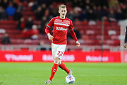 Middlesbrough midfielder George Saville (22) during the EFL Sky Bet Championship match between Middlesbrough and Charlton Athletic at the Riverside Stadium, Middlesbrough, England on 7 December 2019.