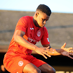 TELFORD COPYRIGHT MIKE SHERIDAN Riccardo Calder of Telford during the Vanarama Conference North fixture between Darlington and AFC Telford United at Blackwell Meadows on Saturday, November 30, 2019.<br /> <br /> Picture credit: Mike Sheridan/Ultrapress<br /> <br /> MS201920-032