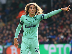 October 28, 2018 - London, England, United Kingdom - London, England - October 28, 2018.Matteo Guendouzi of Arsenal.during Premier League between Crystal Palace and Arsenal at Selhurst Park stadium , London, England on 28 Oct 2018. (Credit Image: © Action Foto Sport/NurPhoto via ZUMA Press)