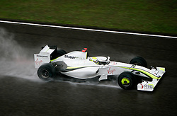 SHANGHAI, CHINA - Sunday, April 19, 2009: Jenson Button (GBR, Brawn GP) during the Formula One Grand Prix of China at the Shanghai International Circuit. (Pic by Michael Kunkel/Hoch Zwei/Propaganda)