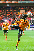 Hull City midfielder Leo Da Silva Lopes (37) does a heel flick skill during the EFL Sky Bet Championship match between Charlton Athletic and Hull City at The Valley, London, England on 13 December 2019.