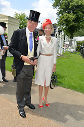 The DUKE & DUCHESS OF ROXBURGH at the 1st day of the Royal Ascot Racing Festival 2015 at Ascot Racecourse, Ascot, Berkshire on 16th June 2015.