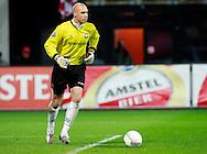 24-11-2007: Voetbal:AZ-WILLEM II: ALKMAAR<br /> Doelman Maikel Aerts was na lang blessureleed weer van de partij<br /> Foto: Geert van Erven