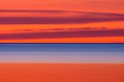 Lake Winnipeg at dawn<br /> Gimli<br /> Manitoba<br /> Canada