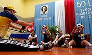 Jubileusz 50-lecia zalozenia Szkoly Podstawowej Nr 243 oraz nadania imienia Eunice Kennedy Shriver (zalozycielka Stowarzyszenia Special Olympics) Szkole Podstawowej Nr 243, Gimnazjum Nr 145, Szkole Przysposobienia do Pracy Nr 5 w Warszawie, Polska.<br /> <br /> Poland, Warsaw, November 22, 2013<br /> <br /> Picture also available in RAW (NEF) or TIFF format on special request.<br /> <br /> For editorial use only. Any commercial or promotional use requires permission.<br /> <br /> Mandatory credit:<br /> Photo by © Adam Nurkiewicz / Mediasport