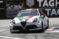 June 23, 2018 - Vila Real, Vila Real, Portugal - Gianni Morbidelli from Italy in Alfa Romeo Giulietta TCR of Team Mulsanne in action during the Race 1 of FIA WTCR 2018 World Touring Car Cup Race of Portugal, Vila Real, June 23, 2018. (Credit Image: © Dpi/NurPhoto via ZUMA Press)