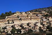Modern housing development near Xalo or Jalon, Marina Alta, Alicante province, Spain