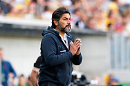 SYDNEY, AUSTRALIA - NOVEMBER 09: Chile soccer coach Jose Letelier during the International friendly soccer match between Matildas and Chile on November 09, 2019 at Bankwest Stadium in Sydney, Australia. (Photo by Speed Media/Icon Sportswire)