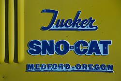 Vintage Tucker Snowcat, Sun Valley, Idaho, US