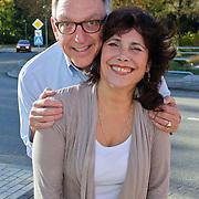 NLD/Hilversum/20111104- Perspresentatie najaar 2011 / 2012 omroep Max, Henk Mouwe en Leonie Sazias