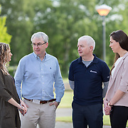 19.05.2017      <br /> Pictured at The Journey to Enterprise Excellence 1 Conference, Kemmy Business School, University of Limerick were, Sinead Mullane, Virgin Media, Sean McKeown, Lufthansa, Gerard Grace, Zimmer Biomet and Rosaleen Mylotte, UL. Picture: Alan Place.