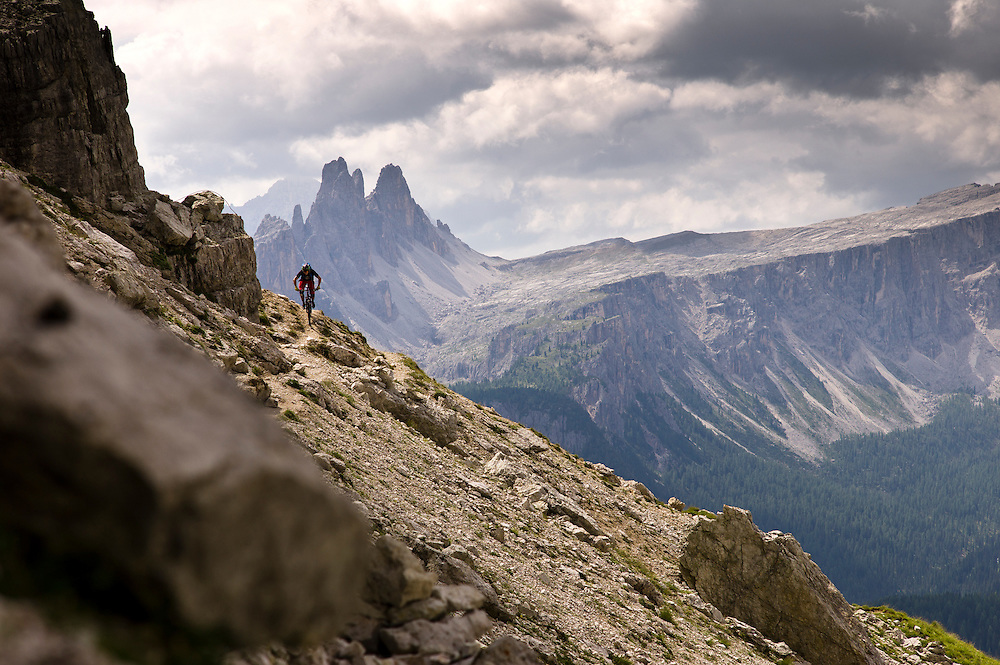 Pete Gaston, Dolomites, Italy.