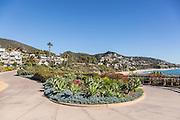 Pedestrian Pathway to Treasure Island Beach at The Montage Resort in Laguna Beach California