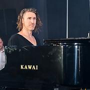Dave Yaden performs at the Grand Final MISS USSR UK 2019 at Hilton Hotel Park Lane on 27 April 2019, London, UK.
