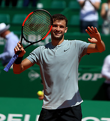 April 20, 2018 - Biarritz, Pays Basque, Nouvelle, Monaco - Tennis - ATP- Monaco - Monte Carlo, Monte  Carlo country club, Rolex Monte - Carlo Masters 2018, 20 avril 2018..le bulgare  Grigor Dimitrov  (Credit Image: © Panoramic via ZUMA Press)