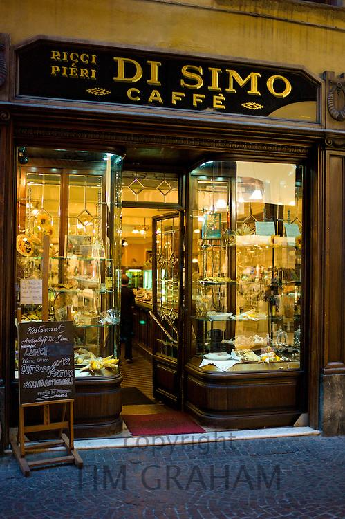 Di Simo Caffe, Ricci and Pieri,  in Via Fillungo,  Lucca, Italy