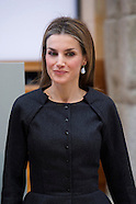 111714 Queen Letizia attends the Delivery Velazquez Visual Arts Prize 2013