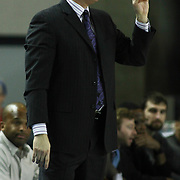 Austin Toros Head Coach Ken McDonald seen in the course of a NBA D-league regular season basketball game between the Delaware 87ers (76ers) and the Austin Toros (Spurs) Monday, Jan. 27, 2014 at The Bob Carpenter Sports Convocation Center, Newark, DE