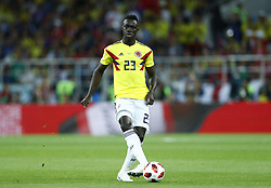 July 3, 2018 - Moscow, Russia - Round of 16 England v Colombia - FIFA World Cup Russia 2018.Davinson Sanchez (Colombia) at Spartak Stadium in Moscow, Russia on July 3, 2018. (Credit Image: © Matteo Ciambelli/NurPhoto via ZUMA Press)