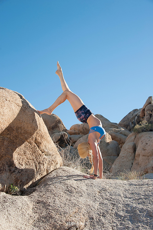 Kim Tang, Bikram yoga teacher in Johsua Tree, CA