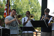 Silas Reed n da Books play in the Grove for the 4th of July in Oxford, Miss. on Wednesday, July 4, 2012.