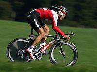 Radsport Weltmeisterschaft 2006 in Salzburg Einzelzeitfahren der Herren Fabian Cancellara (SUI) in Aktion