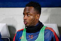 Saido Berahino of West Bromwich Albion looks on from the subs bench - Mandatory byline: Rogan Thomson/JMP - 02/02/2016 - FOOTBALL - The Hawthornes - West Bromwich, England - West Bromwich Albion v Swansea City - Barclays Premier League.