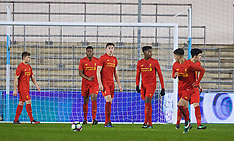 170118 Man City U18 v Liverpool U18