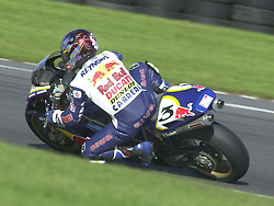 John Reynolds, Reve Red Bull Ducati 996, British Superbike Championship, Round 12, Donington Park, 8th October 2000