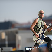WASHINGTON, D.C. - April 18th, 2015 - Tony Kanal of No Doubt performs at the Global Citizen 2015 Earth Day concert on the National Mall in Washington, D.C. (Photo by Kyle Gustafson / For The Washington Post)